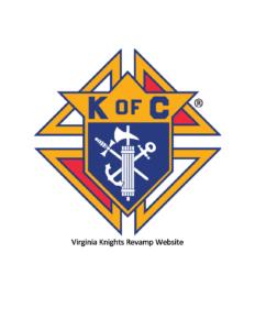 Virginia Knights Revamp Website:  by Brian T. Olszewski, The Catholic Virginian