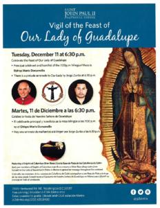 St. John Paul II Shrine Upcoming Hispanic Event