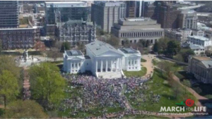 THIRD ANNUAL VIRGINIA MARCH FOR LIFE